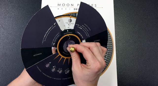 Moon Phases Calendar and Calculator Step 7 - NASA/JPL Edu