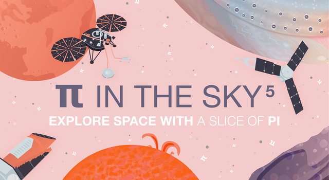 Pi in the Sky 5 promo graphic