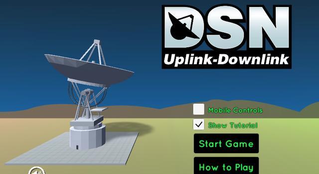 DSN Uplink-Downlink Start Screen