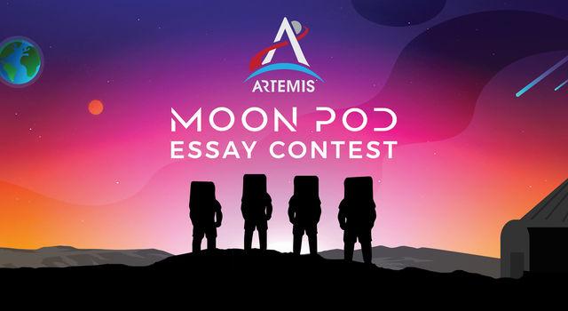 Artemis Moon Pod Essay Contest banner image