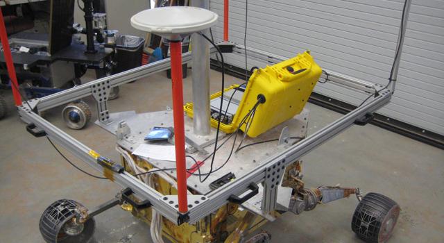 Mars 2018 field-test robot