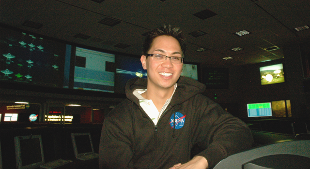 Gregory Galgana Villar III at JPL