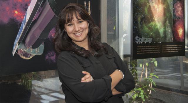 Farisa Morales at JPL