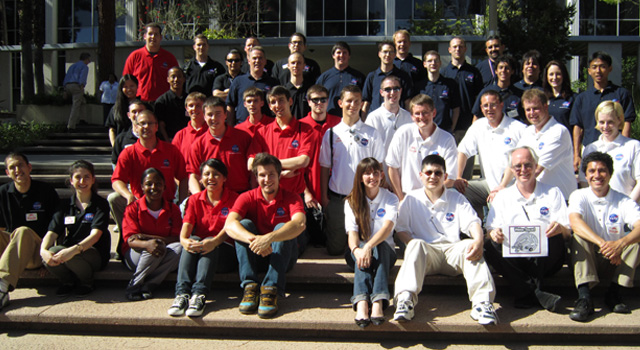 Students participating in NASA's National Community College and Aerospace Scholars program
