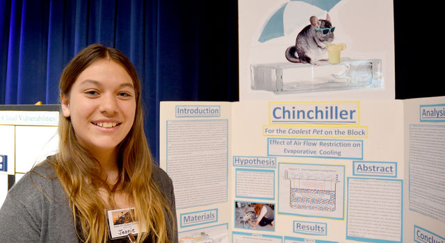 Los Angeles County Science Fair Project - Chinchiller