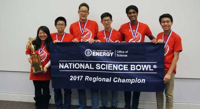 2016 Los Angeles Regional Science Bowl winners