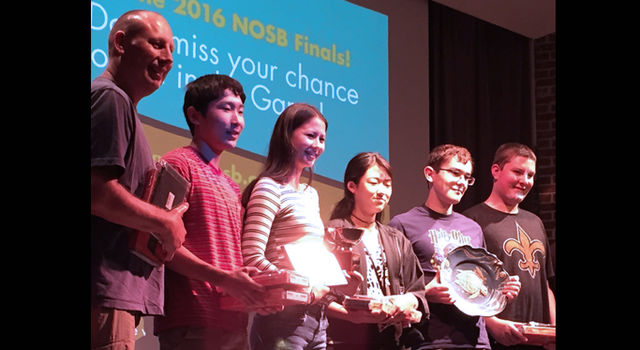 2016 Ocean Sciences Bowl winners