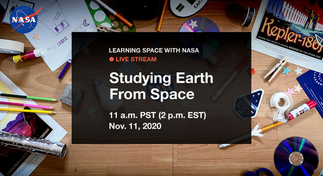 Learning Space With NASA Live Stream Promo - Nov. 2020