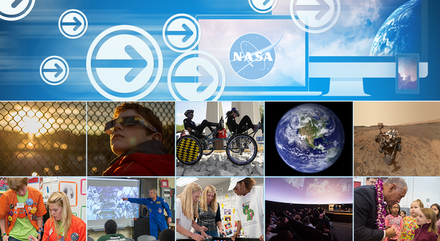 NASA Express newsletter graphic