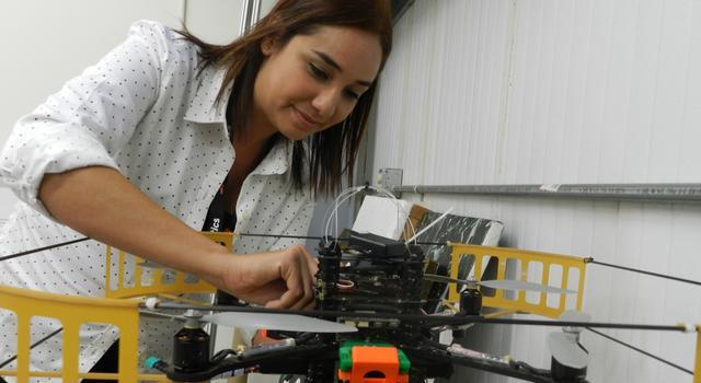 Lorenia Jimenez at JPL