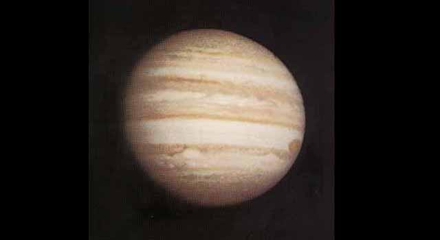 Pioneer 10 photo of Jupiter