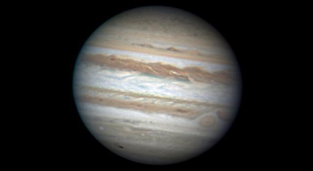 Jupiter's Scar Face