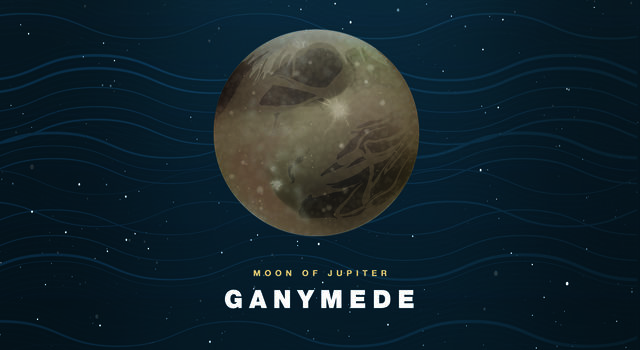 Illustration of Ganymede
