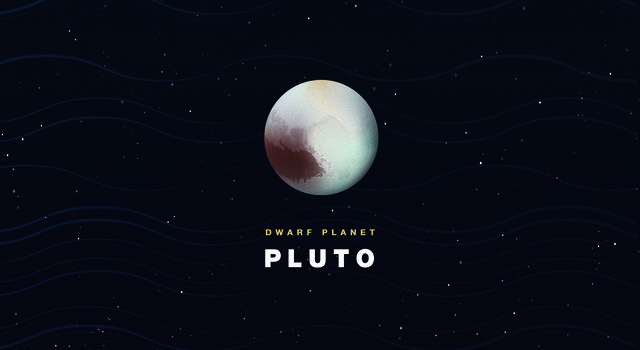 Illustration of Pluto