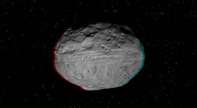 Asteroid Vesta as imaged by NASA Dawn