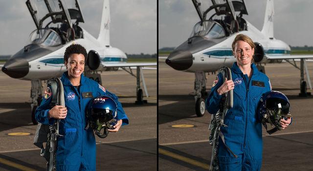 NASA Astronaut Candidates Jessica Watkins and Loral O'Hara