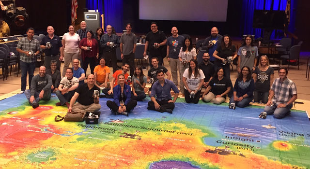 Mars Exploration Educator Workshop at JPL in Pasadena, California
