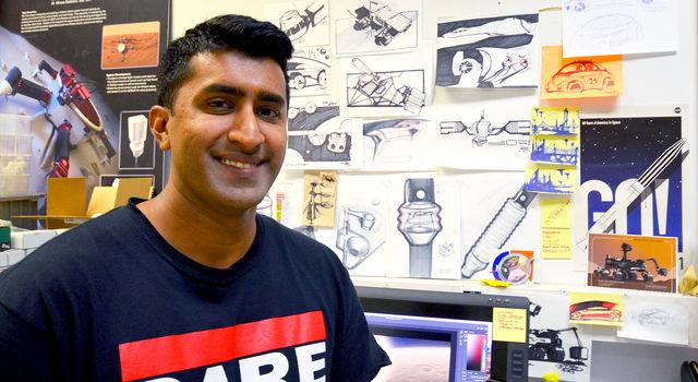 JPL intern Omar Rehman