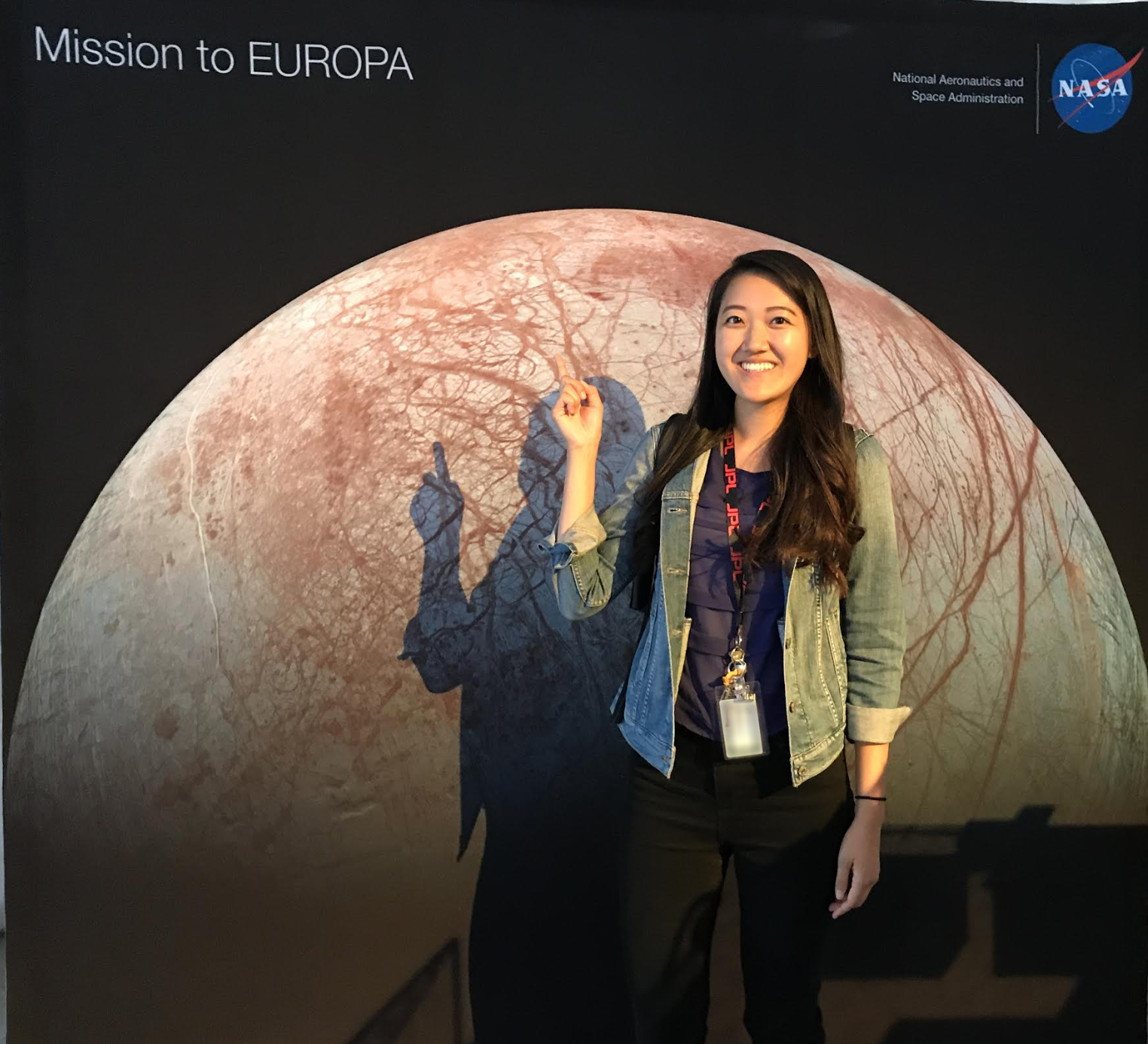 Emily Seto works in planetary protection at JPL