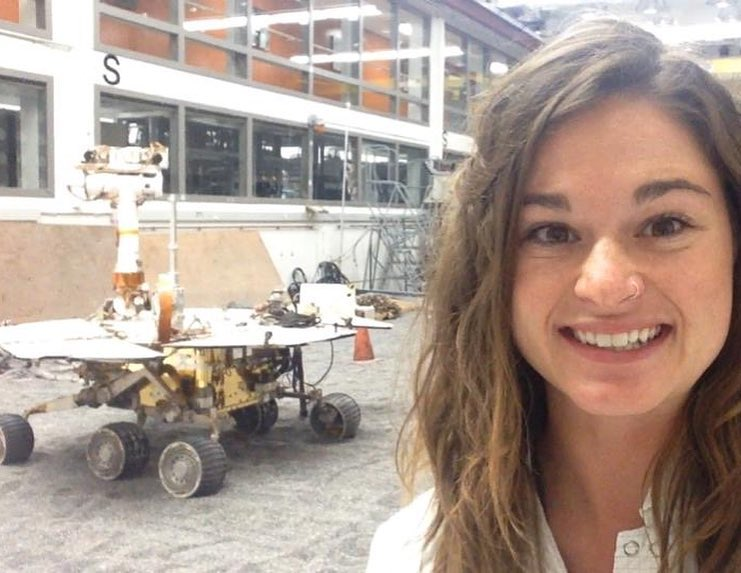 JPL systems engineer Bekah Sosland Siegfriedt builds, tests and operates Mars rovers