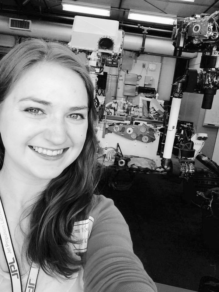 Emma Young helps plan what NASA's Curiosity rover does on Mars
