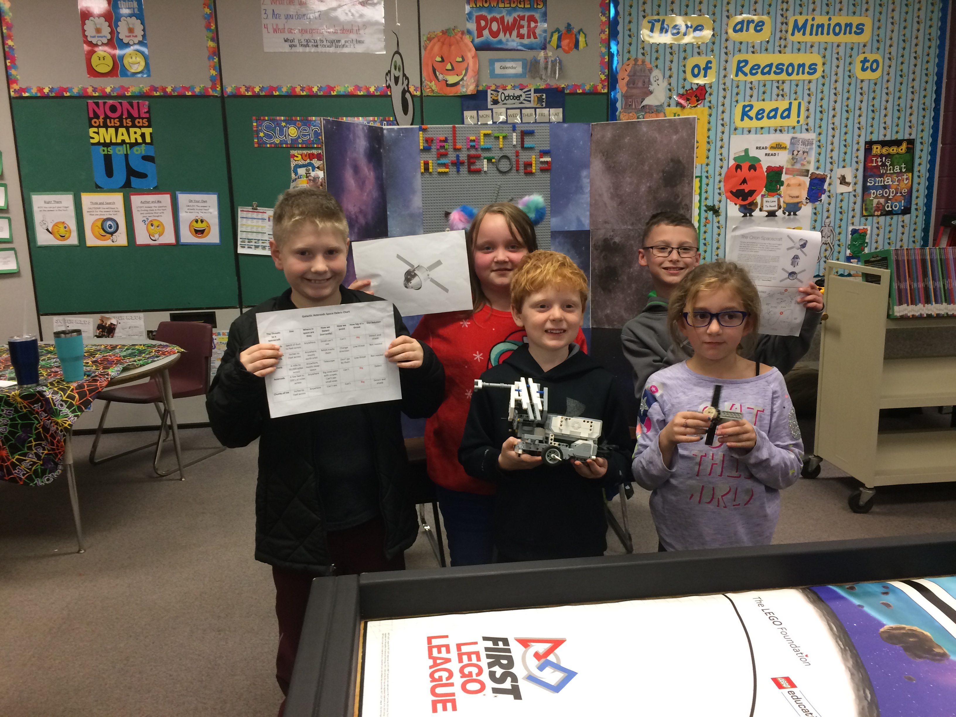 Howell Michigan Southwest Elementary LEGO Robotics Team