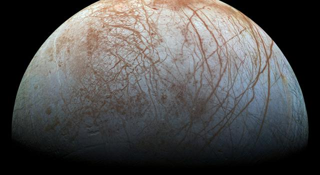 Image of Jupiter's moon Europa