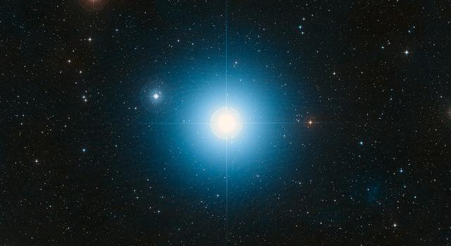 The bright star Fomalhaut